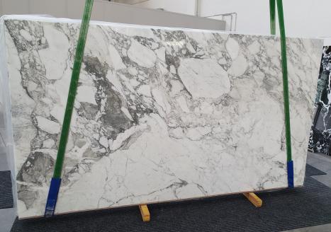 CALACATTA VAGLIlastra grezza marmo italiano lucido Slab #16,  315 x 177 x 2 cm pietra naturale (disponibile in Veneto, Italia)