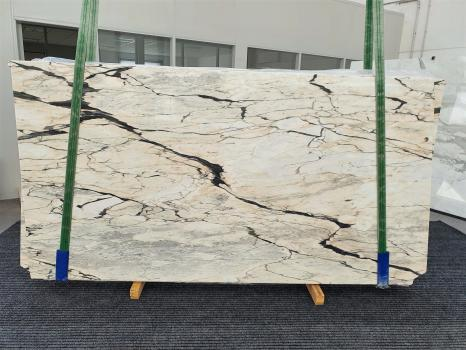 STATUARIO CORAL 10 lastre grezze marmo portoghese lucido Bundle #01,  270 x 145 x 2 cm pietra naturale (disponibili in Veneto, Italia)