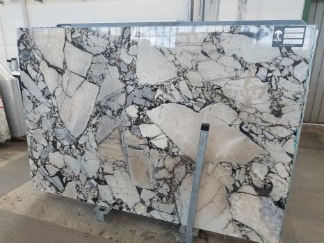 BEAUTY GREY 15 lastre grezze marmo greco lucido SL2,  270 x 180 x 2 cm pietra naturale (disponibili in Veneto, Italia)