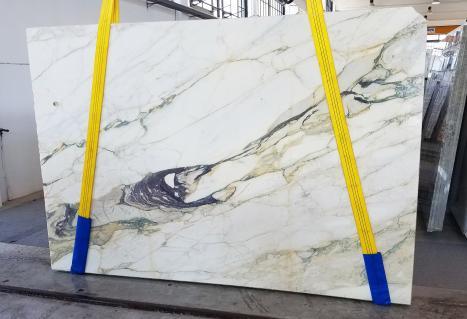 CALACATTA FIORITOlastra grezza marmo italiano segato Slab #08,  270 x 185 x 2 cm pietra naturale (disponibile in Veneto, Italia)
