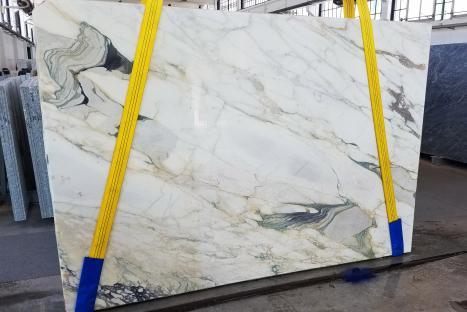 CALACATTA FIORITOlastra grezza marmo italiano segato Slab #18,  270 x 185 x 2 cm pietra naturale (disponibile in Veneto, Italia)