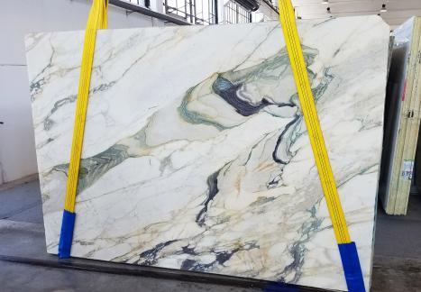 CALACATTA FIORITOlastra grezza marmo italiano segato Slab #25,  270 x 185 x 2 cm pietra naturale (disponibile in Veneto, Italia)