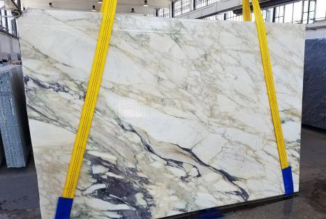 CALACATTA FIORITOlastra grezza marmo italiano segato Slab #34,  270 x 185 x 2 cm pietra naturale (disponibile in Veneto, Italia)