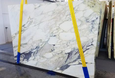 CALACATTA FIORITOlastra grezza marmo italiano segato Slab #42,  270 x 185 x 2 cm pietra naturale (disponibile in Veneto, Italia)
