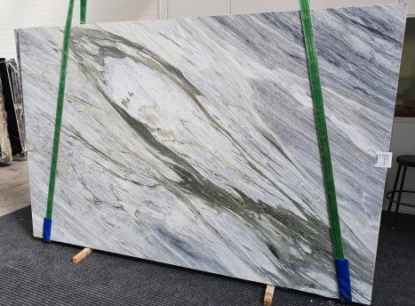 Manhattan Greylastra grezza marmo italiano lucido Slab #34,  305 x 202 x 2 cm pietra naturale (disponibile in Veneto, Italia)