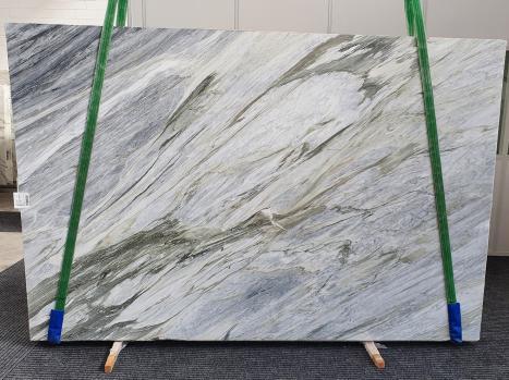 Manhattan Greylastra grezza marmo italiano lucido Slab #43,  305 x 202 x 2 cm pietra naturale (disponibile in Veneto, Italia)