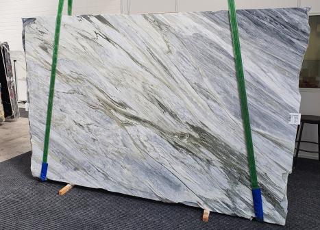 Manhattan Greylastra grezza marmo italiano lucido Slab #52,  305 x 202 x 2 cm pietra naturale (disponibile in Veneto, Italia)