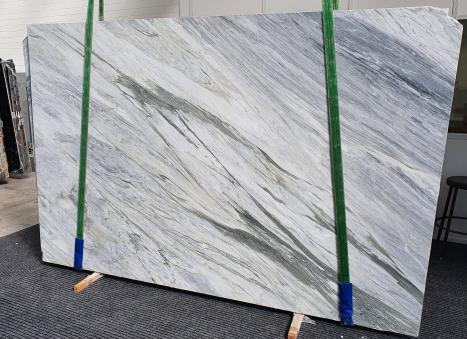 MANHATTAN GREYlastra grezza marmo italiano levigato Slab #08,  305 x 202 x 2 cm pietra naturale (disponibile in Veneto, Italia)