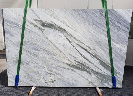 MANHATTAN GREYlastra grezza marmo italiano levigato Slab #16,  305 x 202 x 2 cm pietra naturale (disponibile in Veneto, Italia)