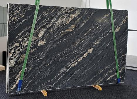 TROPICAL STORMlastra grezza quarzite della Namibia levigata Slab #10,  310 x 198 x 3 cm pietra naturale (disponibile in Veneto, Italia)
