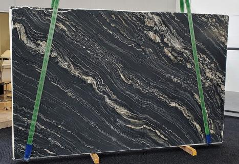 TROPICAL STORMlastra grezza quarzite della Namibia levigata Slab #43,  310 x 198 x 2 cm pietra naturale (disponibile in Veneto, Italia)
