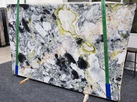 AMAZONIAlastra grezza marmo cinese lucido Slab #13,  260 x 180 x 2 cm pietra naturale (venduta in Veneto, Italia)