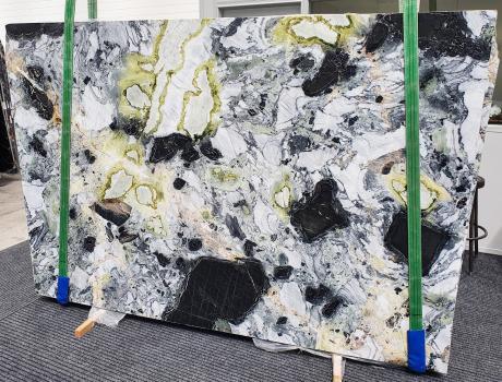 AMAZONIAlastra grezza marmo cinese lucido Slab #24,  260 x 180 x 2 cm pietra naturale (venduta in Veneto, Italia)