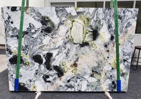 AMAZONIAlastra grezza marmo cinese lucido Slab #31,  260 x 180 x 2 cm pietra naturale (venduta in Veneto, Italia)