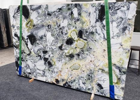 AMAZONIAlastra grezza marmo cinese lucido Slab #37,  260 x 180 x 2 cm pietra naturale (venduta in Veneto, Italia)