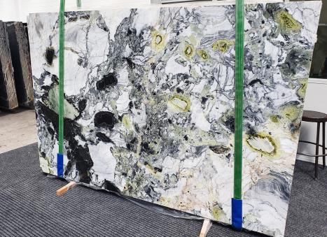 AMAZONIAlastra grezza marmo cinese lucido Slab #49,  260 x 180 x 2 cm pietra naturale (venduta in Veneto, Italia)
