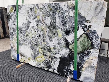 AMAZONIAlastra grezza marmo cinese lucido Slab #54,  260 x 180 x 2 cm pietra naturale (disponibile in Veneto, Italia)