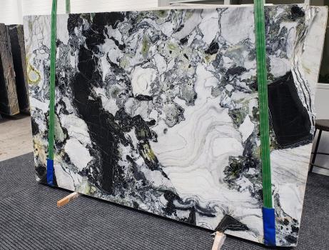 AMAZONIAlastra grezza marmo cinese lucido Slab #71,  260 x 180 x 2 cm pietra naturale (disponibile in Veneto, Italia)