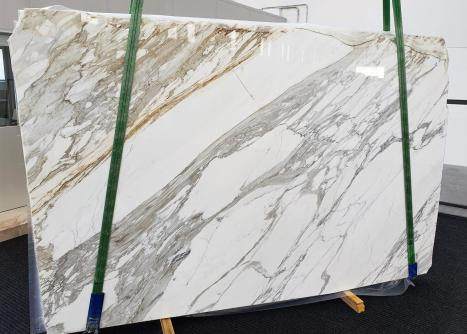 CALACATTAlastra grezza marmo italiano lucido A - slab #01,  300 x 200 x 3 cm pietra naturale (disponibile in Veneto, Italia)