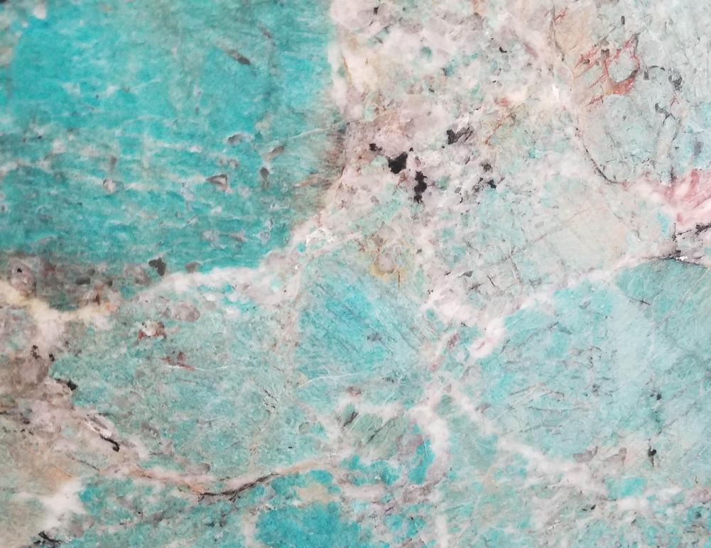Scheda tecnica: AMAZZONITE, pietra semipreziosa naturale lucida brasiliana