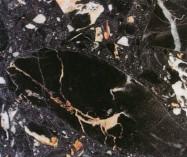 Scheda tecnica: NERO PORTORO, marmo agglomerato artificiale lucido italiano