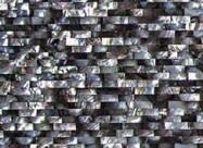 Scheda tecnica: BLACK LIP BRICK, pietra semipreziosa naturale lucida sudafricana