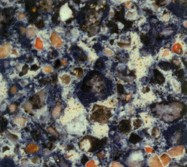 Scheda tecnica: BLUE SAFITA, quarzite ricostituita artificialmente lucida spagnola
